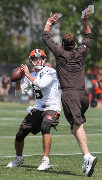 Cody Kessler at mini camp