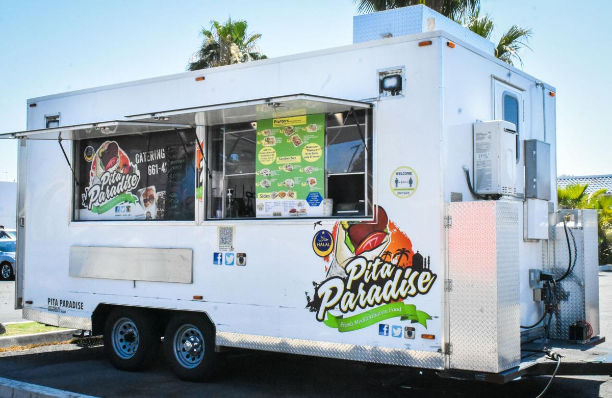 Pita Paradise truck