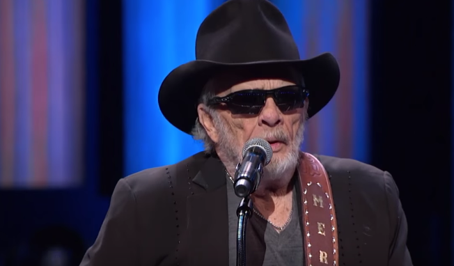 Merle Haggard at the Opry