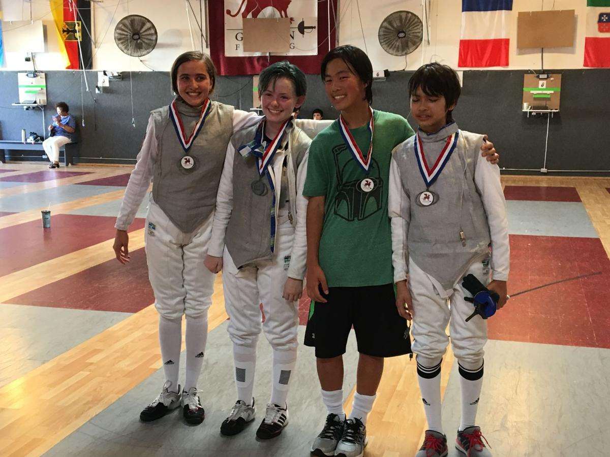 Local fencer wins gold medal at SoCal tournament