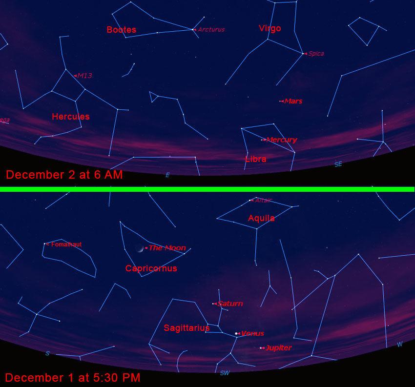 Stargazing Dec. 1