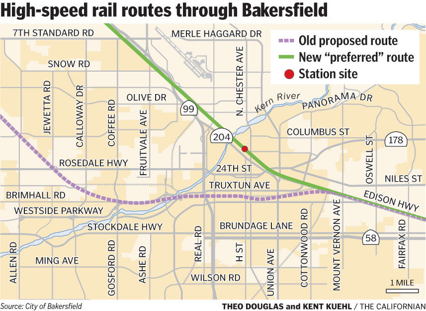 Plans Emerge For Bullet Train Station News Bakersfield Com
