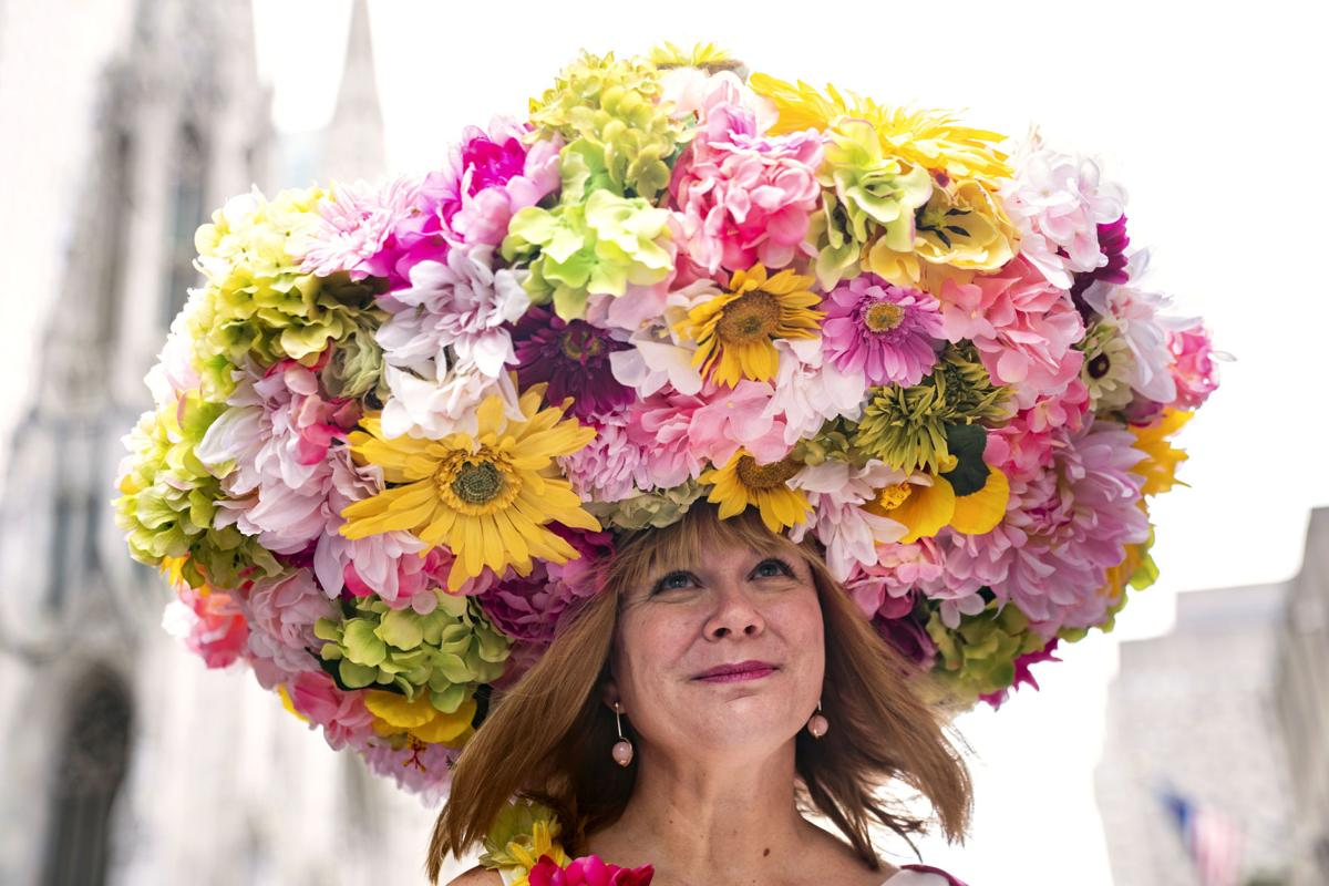 APTOPIX Easter Parade NYC