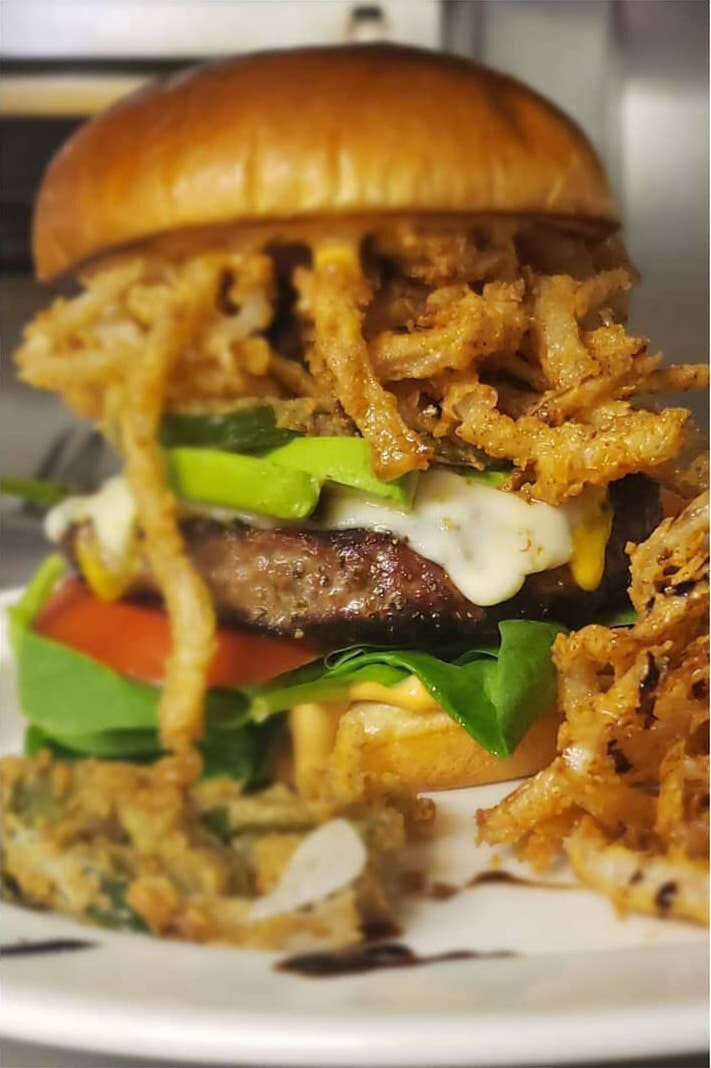Crest LA burger