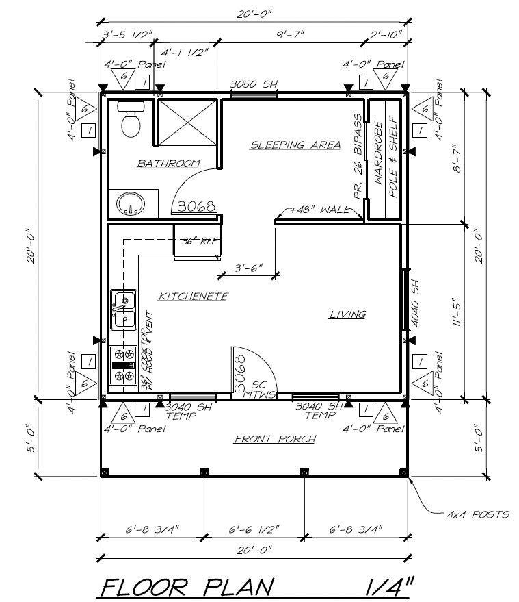 VET HOUSING FLOOR PLAN