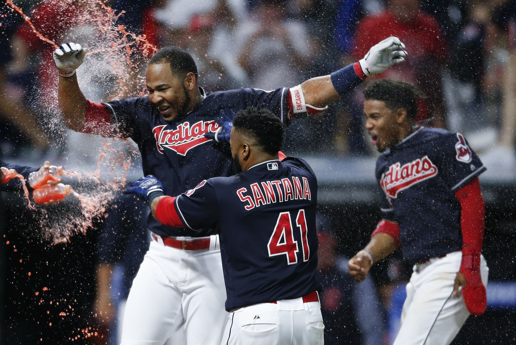 Help Indians beat Angels, match season high with sixth straight win