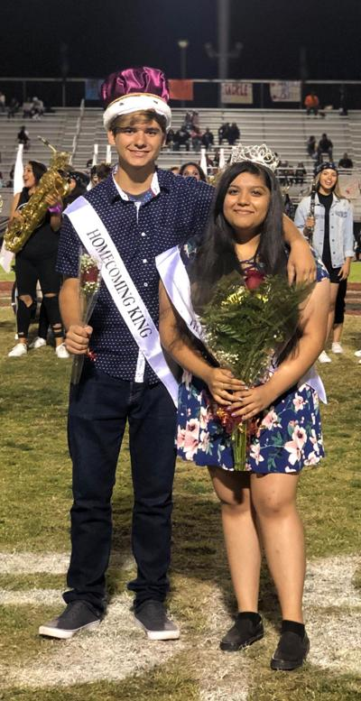 CCHS homecoming king and queen