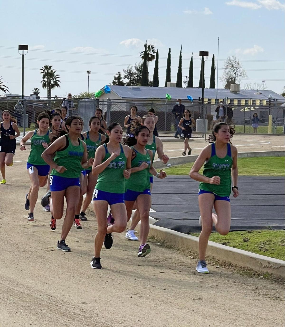 East at Highland cross country 2