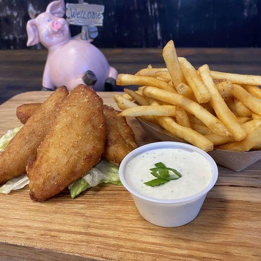 Pork Chop fish