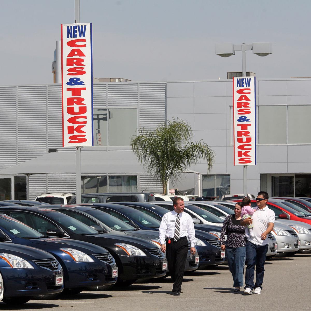 Bakersfield Auto Mall >> Auto Mall Taking Shape Along 7th Standard Business