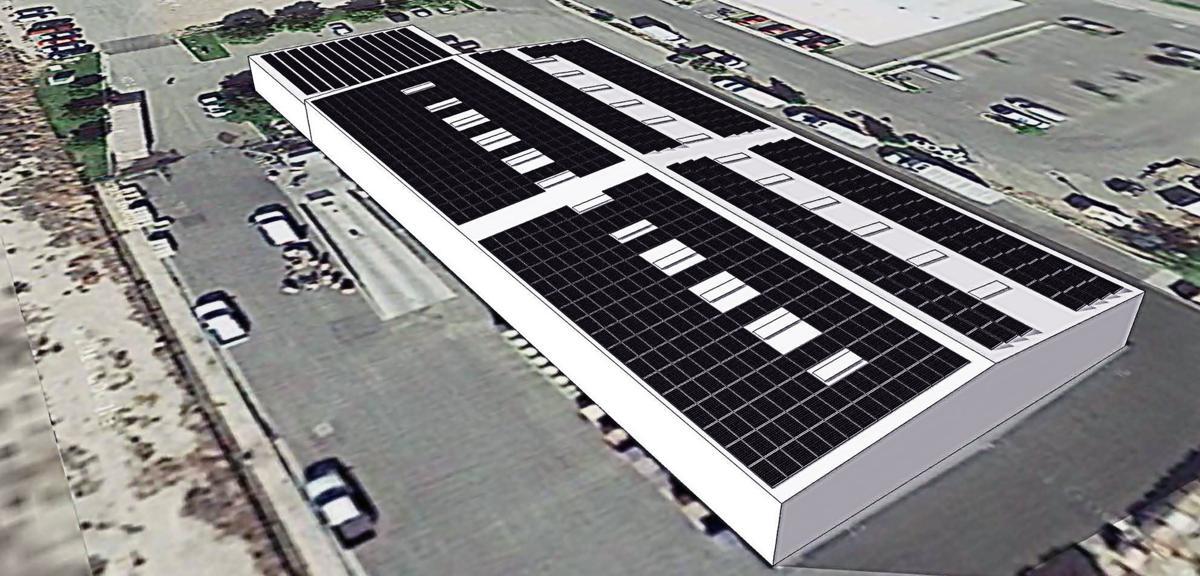 CAPK Food Bank Solar Panels