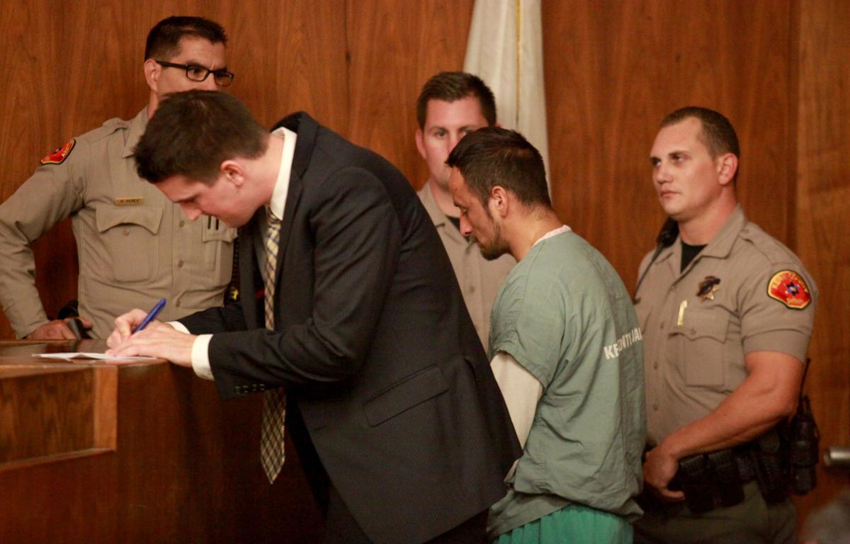 Hernandez in court
