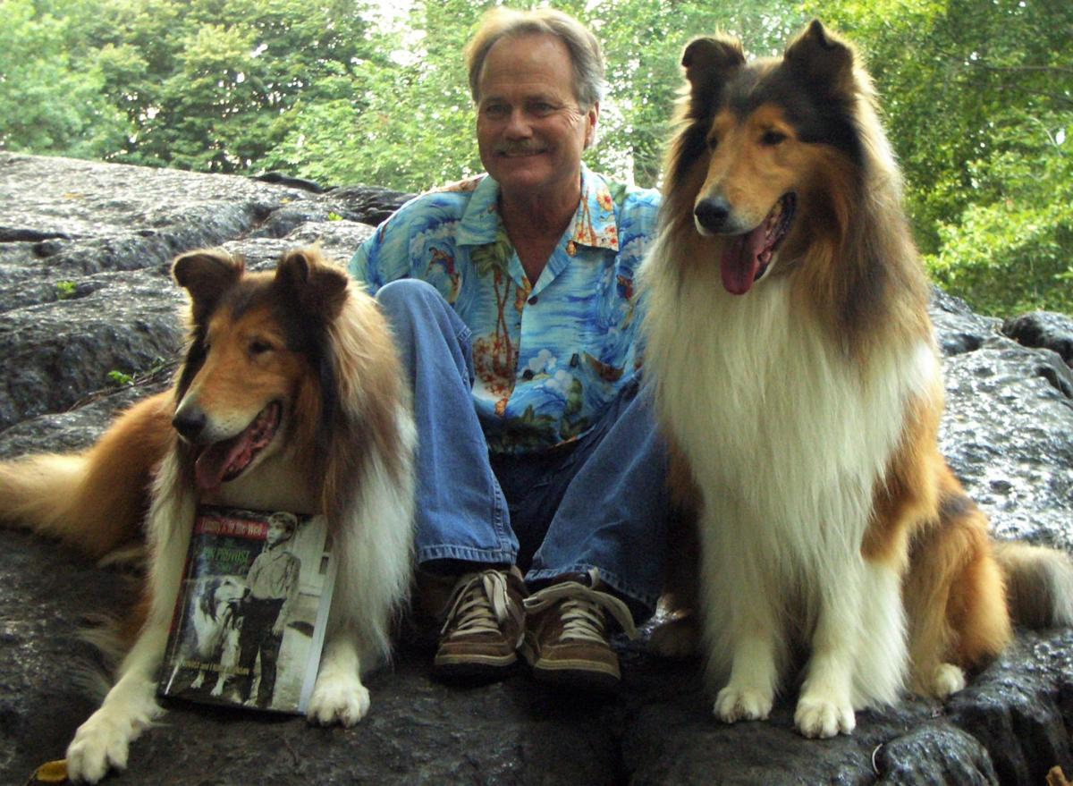 3 Jon Provost displays a copy of his autobiography with the