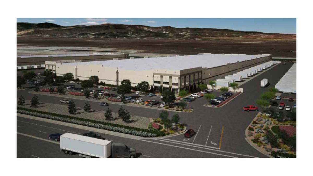 5151 Wheeler Ridge Rd 630K SF rendering