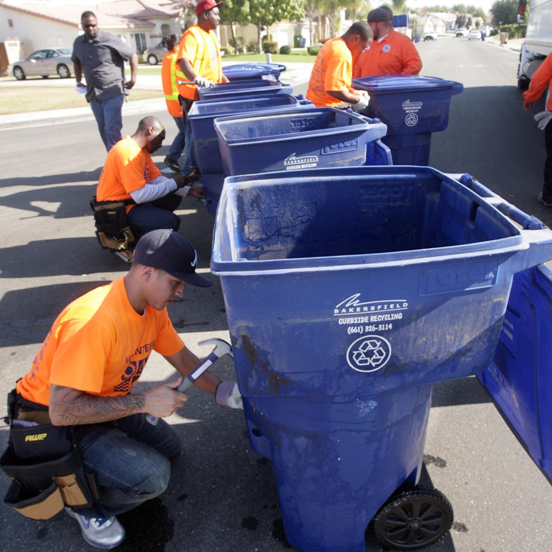 City Of Bakersfield Curbside Recycling Calendar 2021