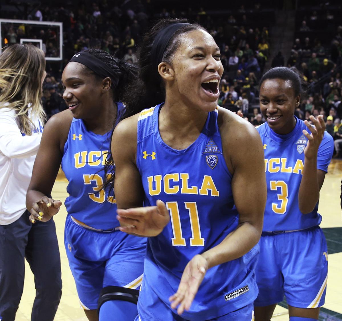 APTOPIX UCLA Oregon Basketball