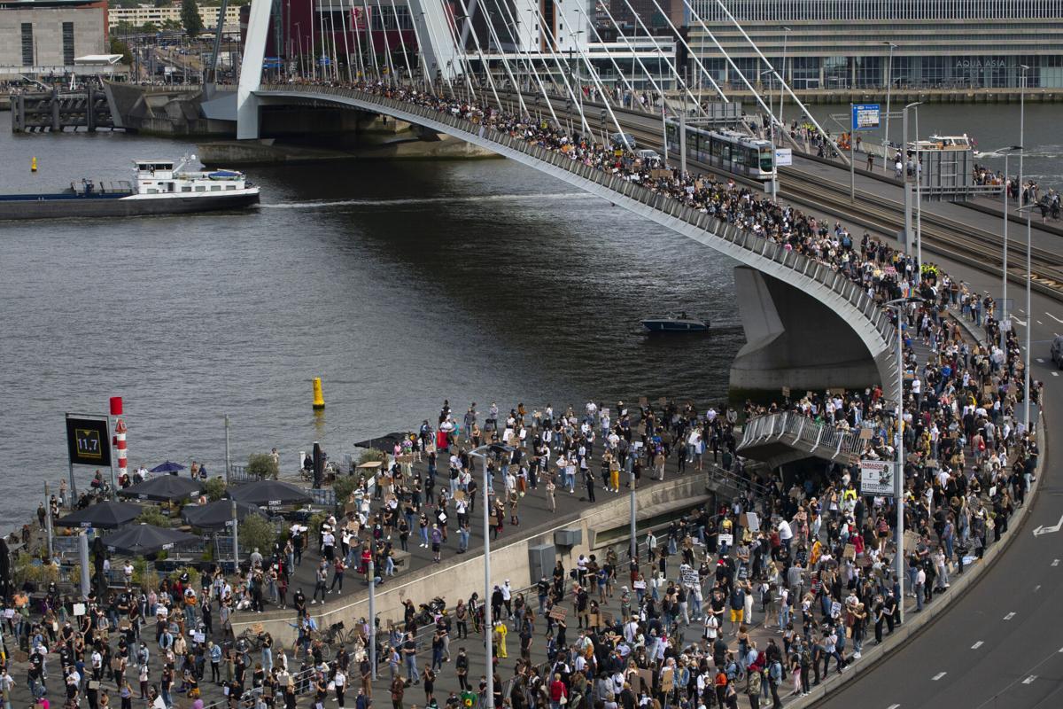 America Protests Netherlands