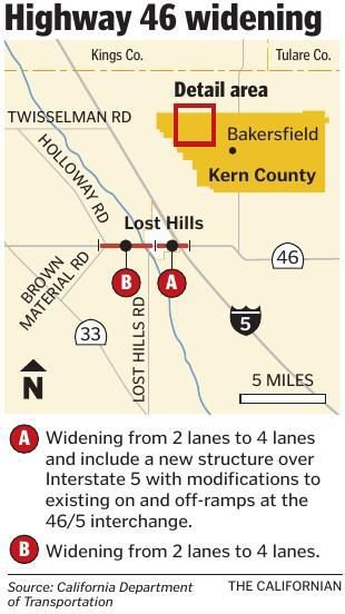 Highway 46 widening project