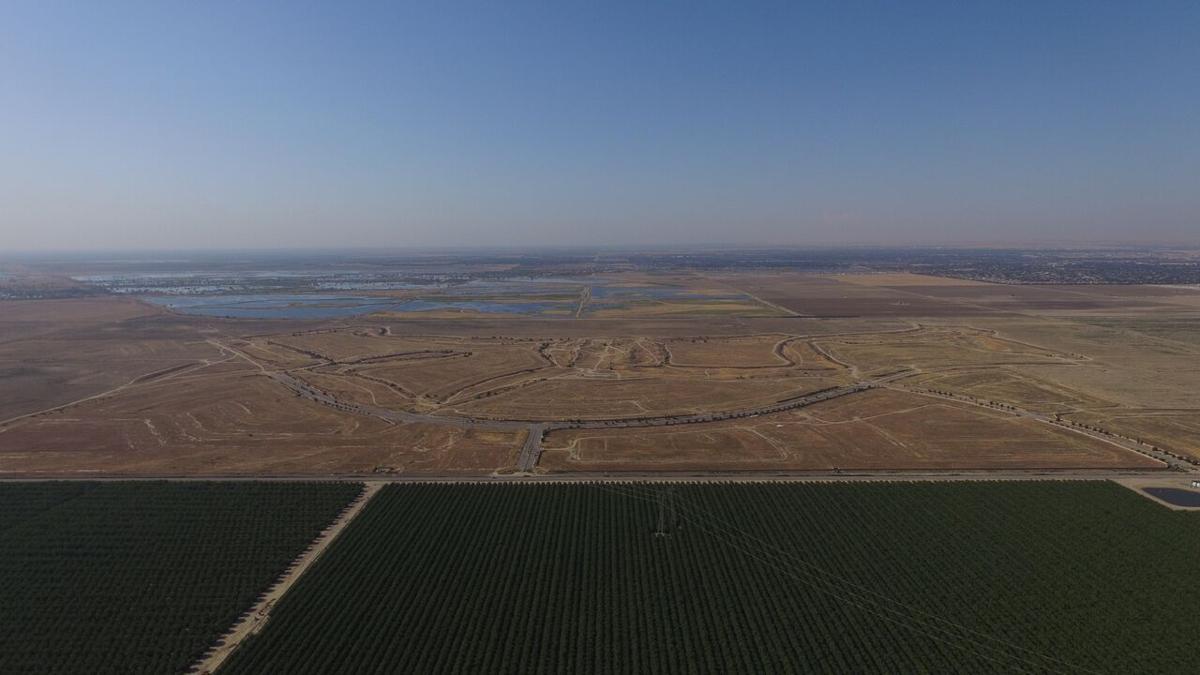 McCallister Ranch drone shot north