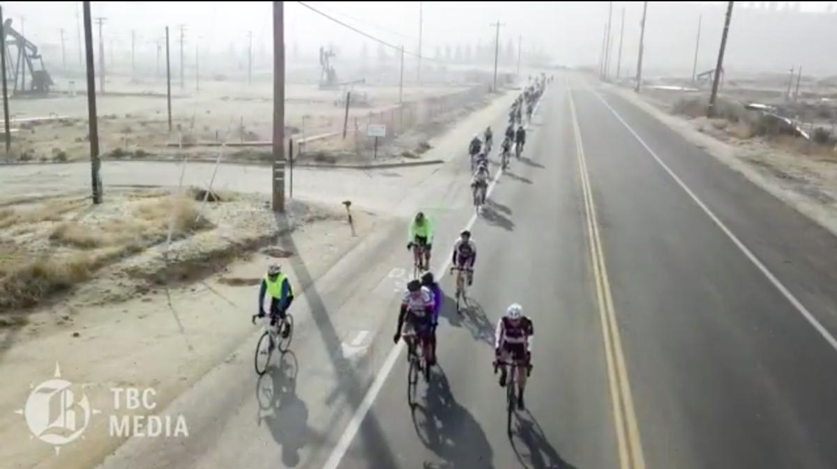 New Year's bike ride