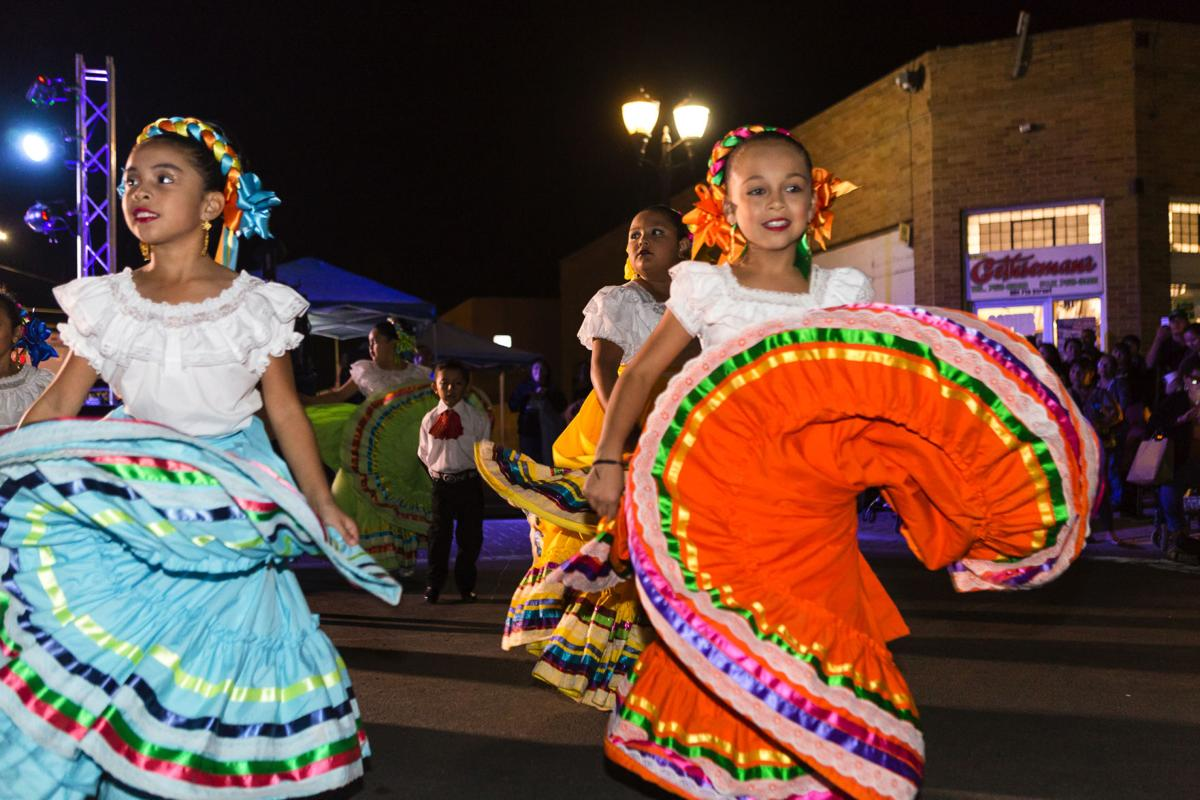Wasco young dancers