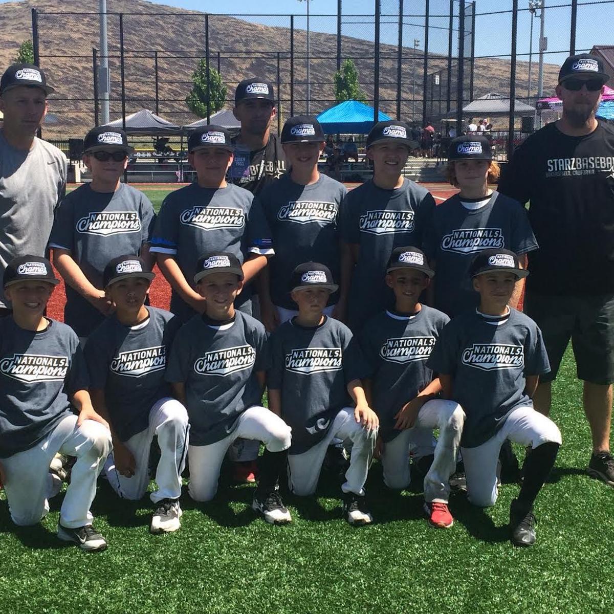 Bakersfield Starz 10U baseball team wins national title