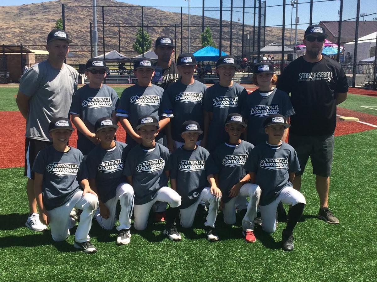 Bakersfield Starz 10U baseball team wins national title