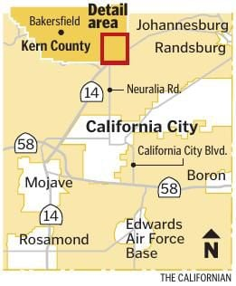 Map Where Is California City Bakersfield Com