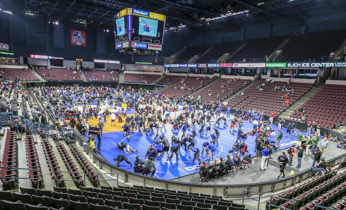 STATE WRESTLING: Team scores and Saturday's matches ...