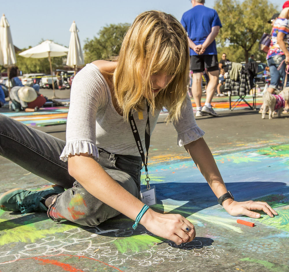 KASEY MEREDITH: Via Arte experience is a long way from childhood drawings on parents' driveway
