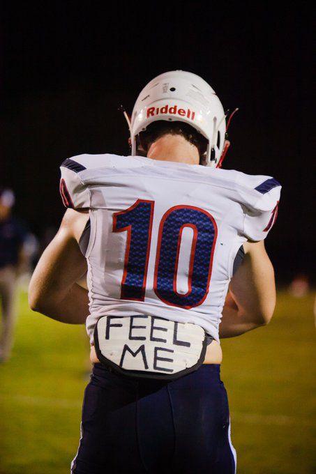Brady Anderson Liberty football