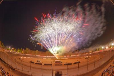 Bakersfield Speedway fireworks
