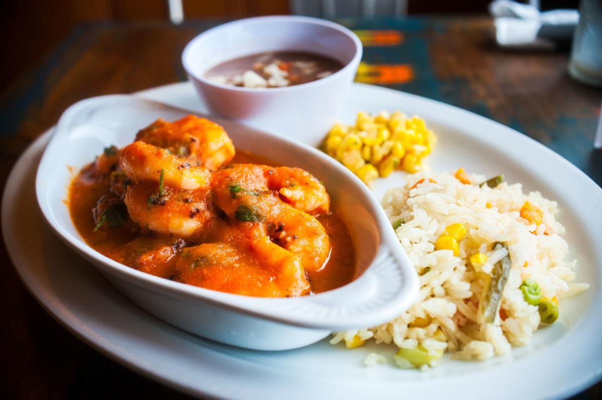 Nuestro Mexico's Shrimp a la Diabla