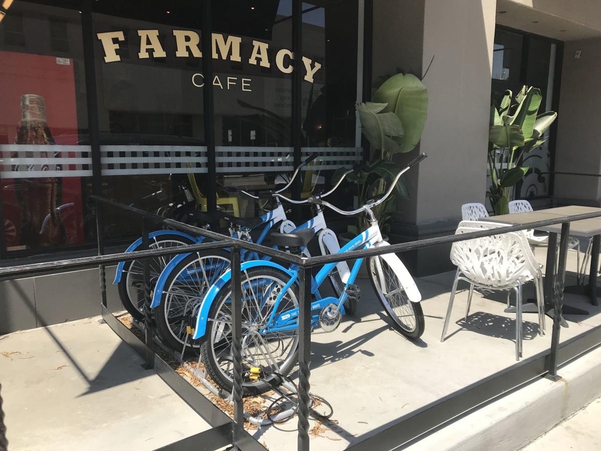Bikes at The Padre hotel