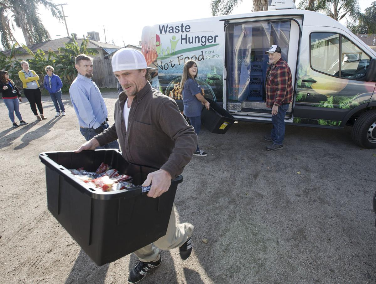 Health Department 'rescues' 22 tons of food from trash in program that feeds the hungry