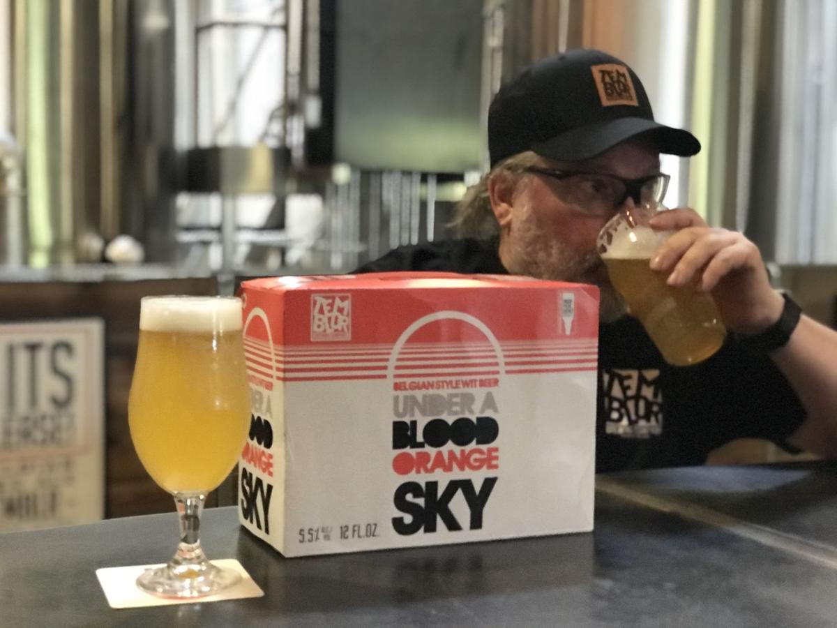 Temblor Brewing Co.'s Under a Blood Orange Sky