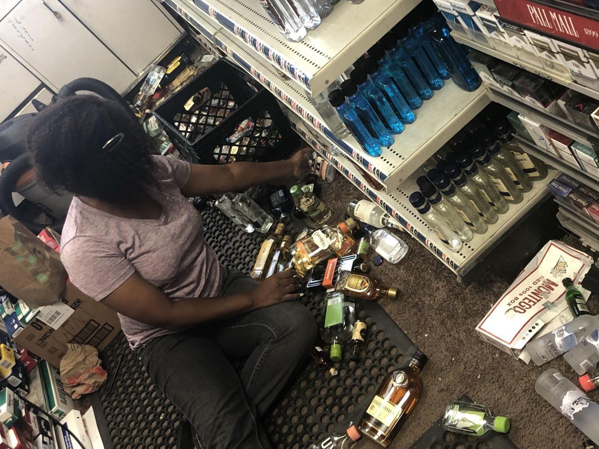Ridgecrest liquor bottles