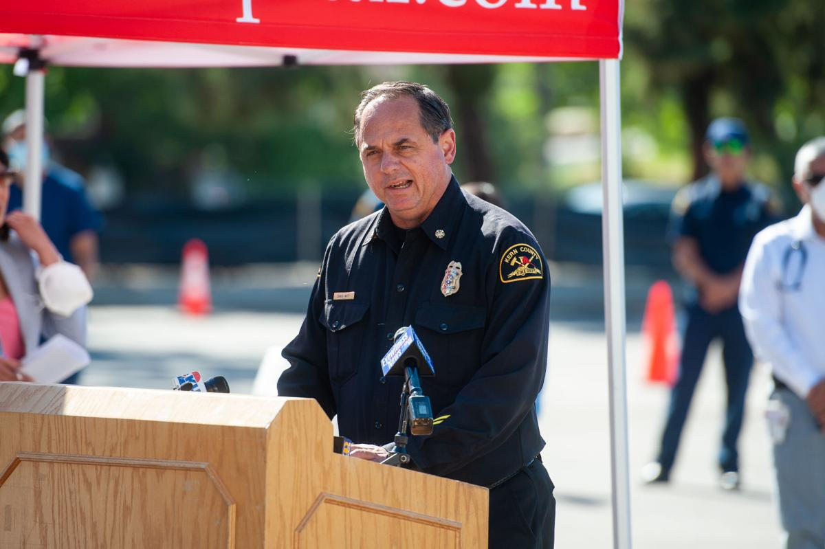 5th District Drive-Thru Testing Site Press Conference (copy)