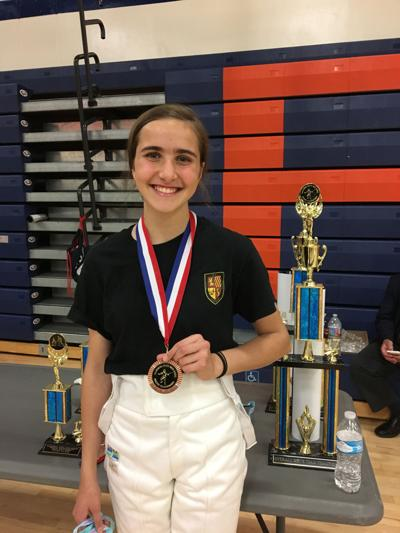 Kern County fencer wins 5th place in State High School Fencing Championships