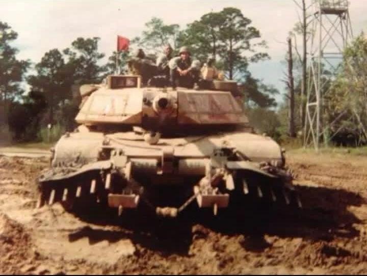 Juan Alberto Martinez tank