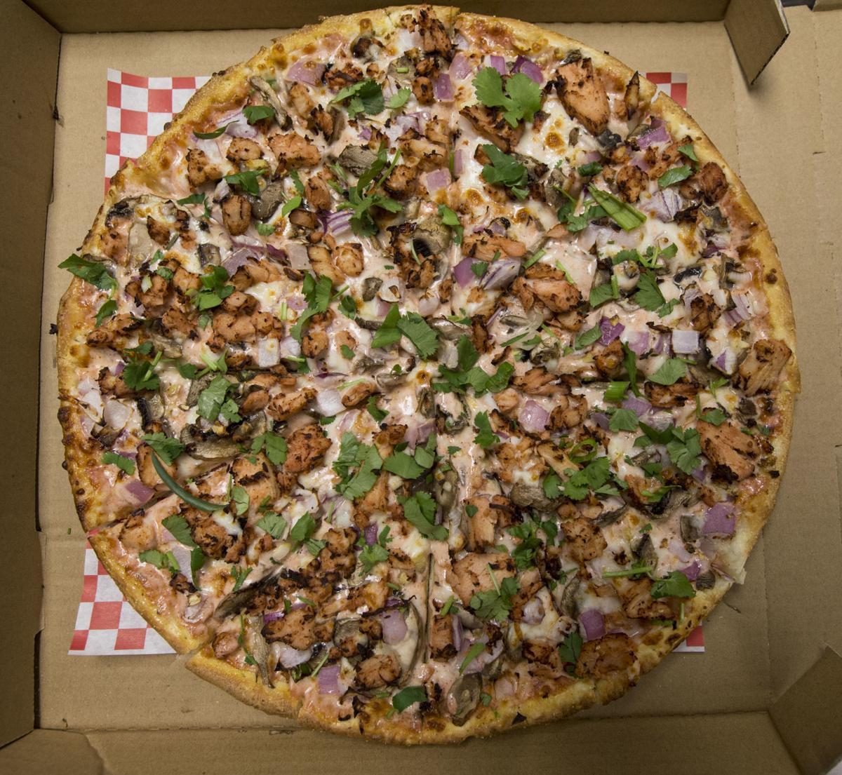 Chicago pizza tandoori