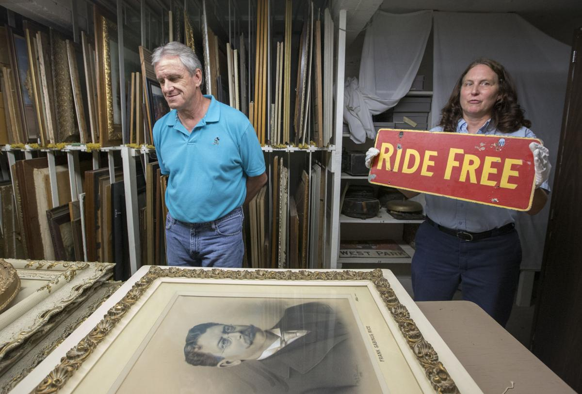 What's behind the curtain at the Kern County Museum? Lotsa
