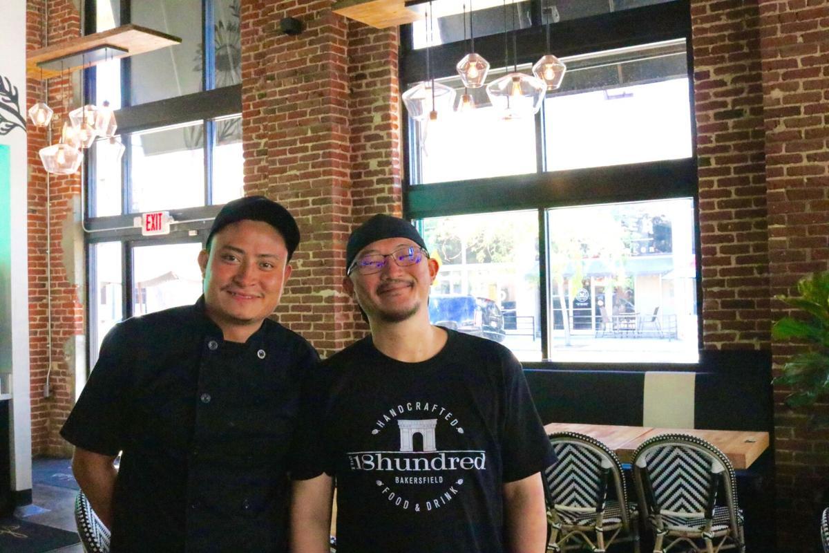 Chef Take Kato and sous chef, Carlos Sosa