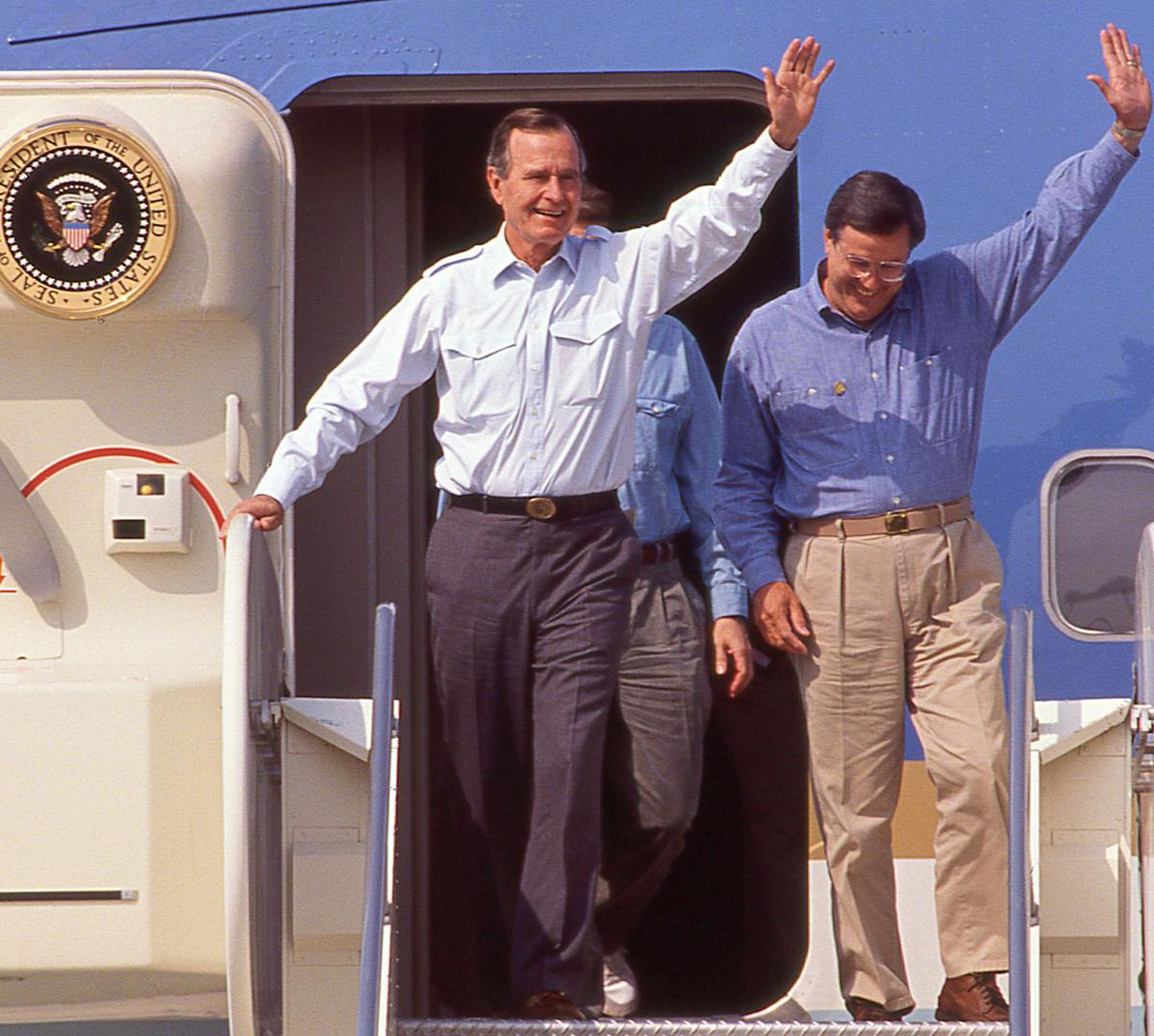 Presidents Day: In the past three decades, Kern County has had its share of presidential visits