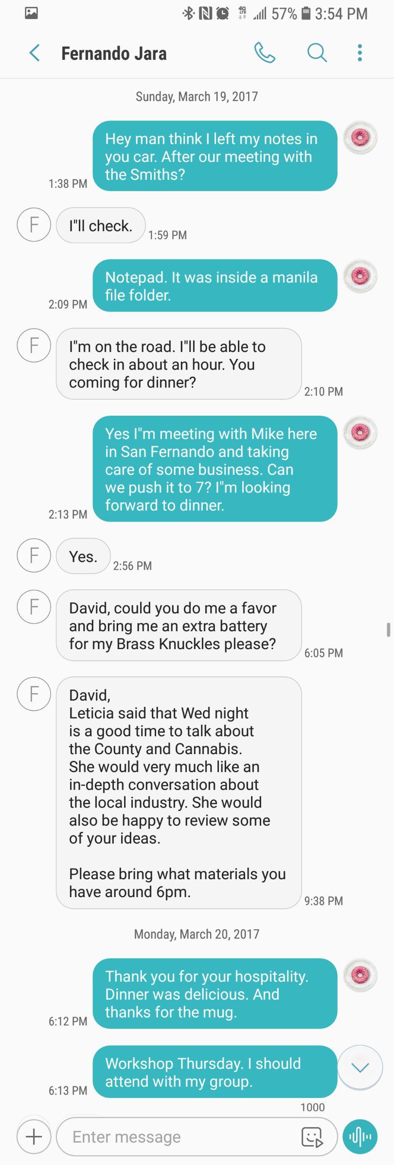 Texts from Jara 1