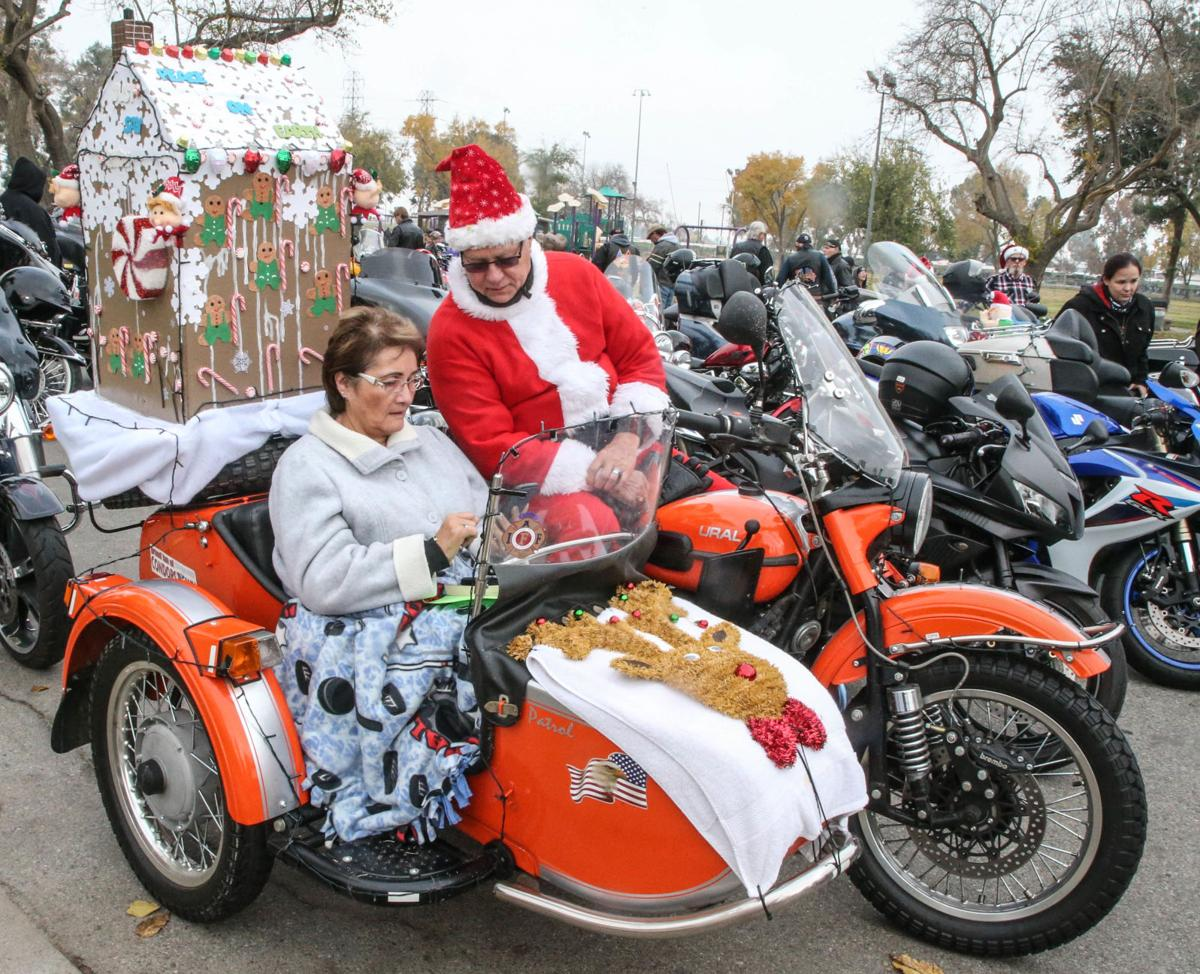 Thousands of motorcyclists take to the streets in 35th Annual Bakersfield Toy Run and Food Drive