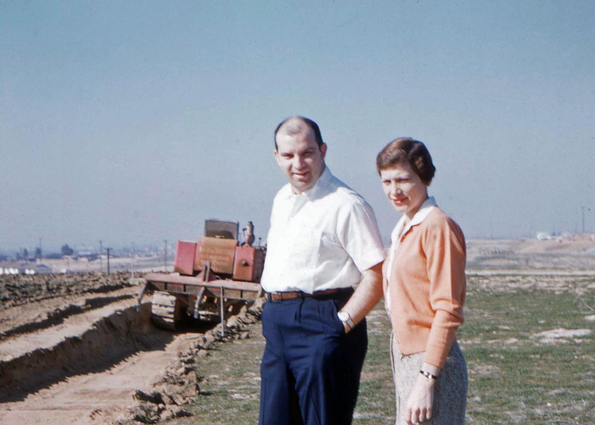 Dr. & Mrs Geo. Ablin on property 01