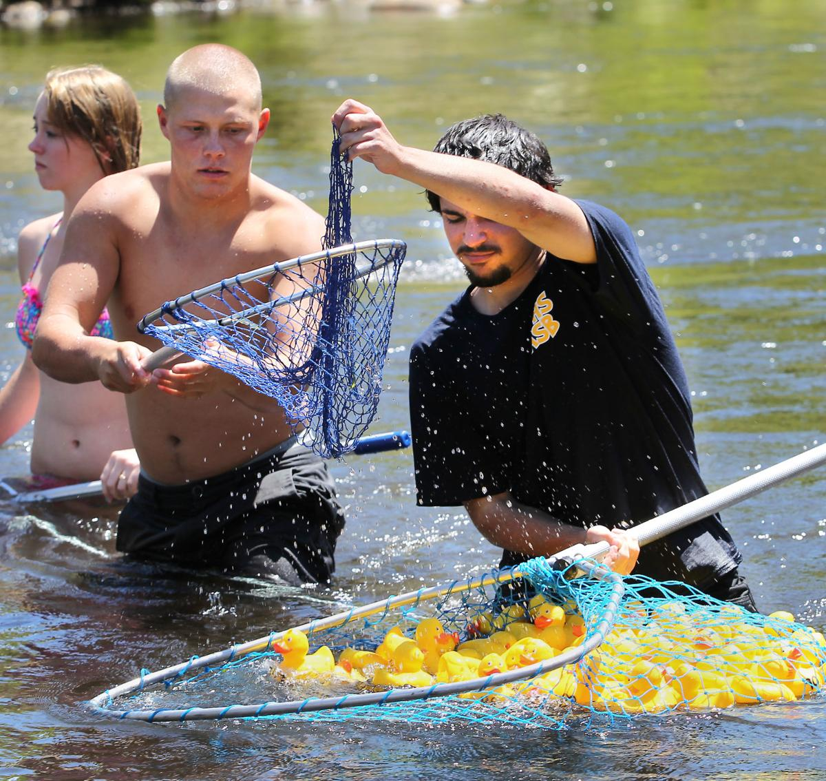 Duck and (dis)cover: Fun's in Kernville for 30th annual Rubber Ducky Races