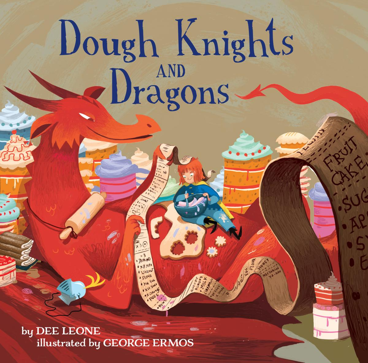 Dee Leone Dough Knights and Dragons