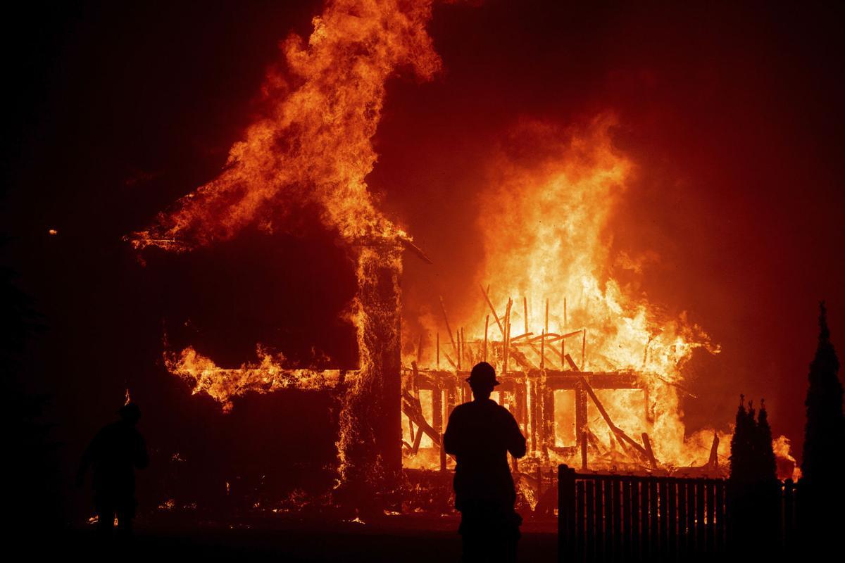APTOPIX vCalifornia Wildfires